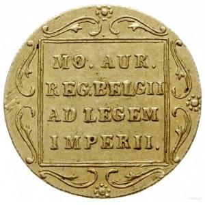 dukat 1831, Warszawa; odmiana z kropką przed pochodnią;...