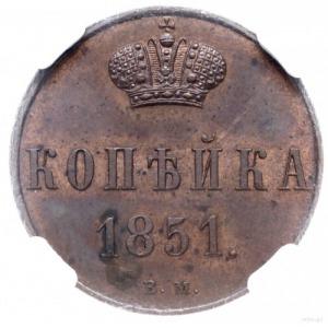 kopiejka 1851, Warszawa; Plage 496, Bitkin 867, Brekke ...