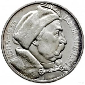 10 złotych 1933, Warszawa; Jan III Sobieski - 250. rocz...