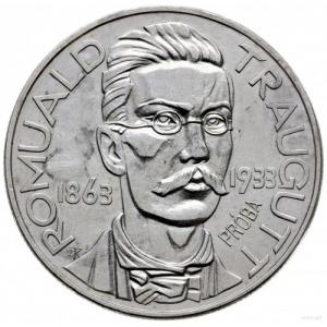 10 złotych 1933, Warszawa; Romuald Traugutt - 70. roczn...