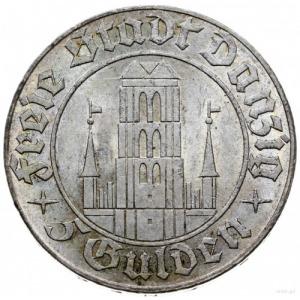 5 guldenów 1932, Berlin; Kościół Marii Panny; Jaeger D....