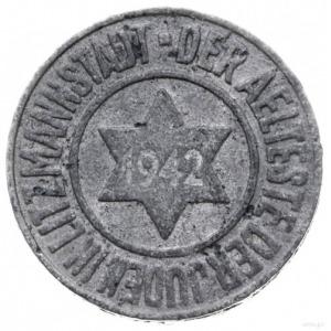 10 fenigów 1942, Łódź; magnez; Jaeger L.2, Parchimowicz...