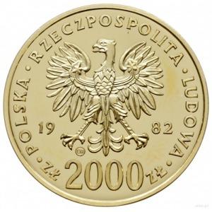 2.000 złotych 1982, Szwajcaria; moneta wybita z okazji ...