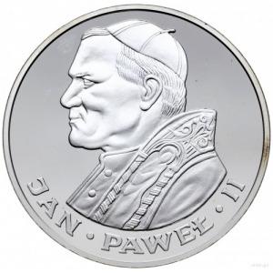 200 złotych 1986, Szwajcaria; Jan Paweł II; srebro 40 m...