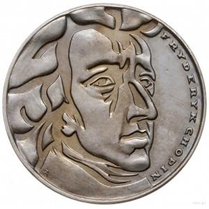 50 złotych 1972, Warszawa; Fryderyk Chopin - bez napisu...