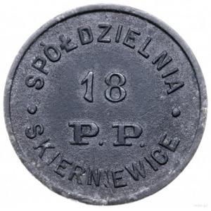 Skierniewice, 50 groszy Spółdzielni 18 Pułku Piechoty; ...