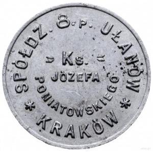 Kraków Rakowice, 1 złoty Spółdzielni 8 Pułku Ułanów Ksi...