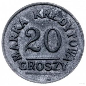 Kraków Rakowice, 20 groszy Spółdzielni 8 Pułku Ułanów K...