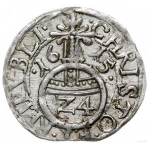 półtorak (Reichsgroschen) 1615, Szczecin; Hildisch 63, ...