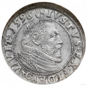 grosz 1596, Królewiec; Slg. Marienburg 1308, Neumann 58...