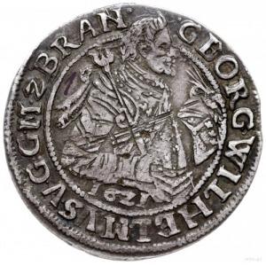 ort 1621, Królewiec; odmiana z datą pod popiersiem księ...