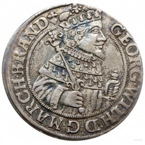 ort 1625, Królewiec; odmiana ze znakiem mennicy na awer...