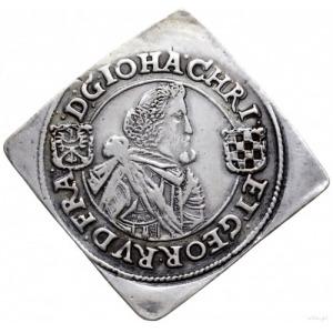 klipa 1/2 talara 1620, Oława lub Złoty Stok; Aw: Popier...