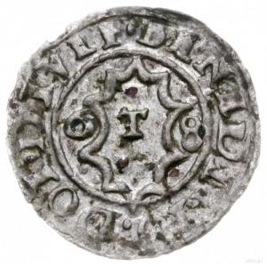 trzeciak 1568, Cieszyn; Aw: Orzeł i napis BENEDITO DOI ...