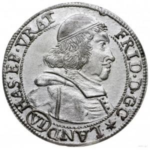6 krajcarów 1679, Nysa; F.u.S 2699, E.-M. 47 (R1); pięk...