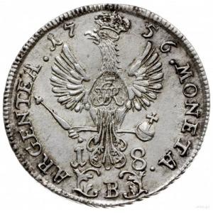 ort 1756/B, Wrocław; F.u.S. 1040, Olding 294; bardzo ła...