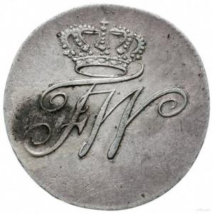 odbitka w czystym srebrze 1/2 krajcara 1789, Wrocław; 3...