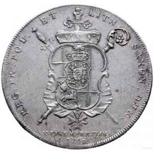 talar 1769, Koblencja; Aw: Popiersie w lewo i napis wok...