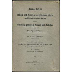"Otto Helbing; katalog aukcyjny ""Sammlung polnischer Mun..."