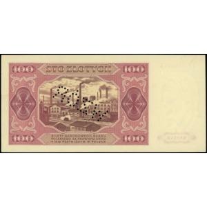 100 złotych 1.07.1948, seria IY, numeracja 0000016, per...