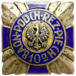 10a Baon Podchorążych Rezerwy Piechoty; odznaka pamiątk...
