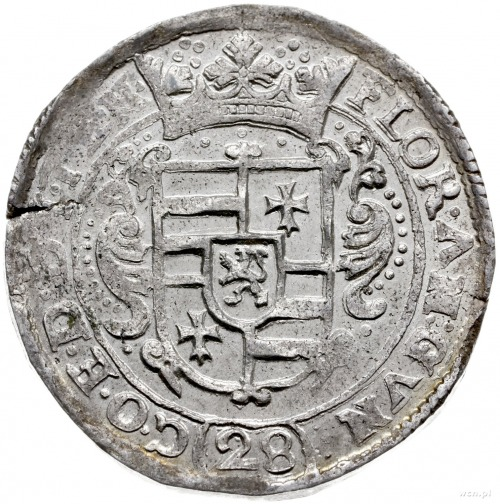 28 stuberów (floren) bez daty; z tytulaturą Ferdynanda ...