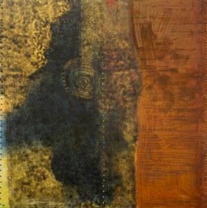 Marian BOGUSZ (1920 - 1980), Obraz ze 102 punktami, 1969
