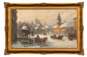 Władysław CHMIELIŃSKI (1911 - 1979), Stare Miasto zimą