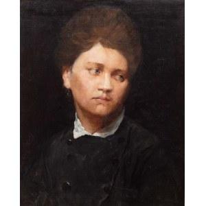 Damian Krajewski (1855 Kamionka Strumiłowa - ?), Portret młodej kobiety