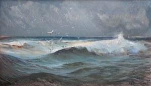 Henryk Baranowski (1932 Starogard Gdański - 2005 Gdynia), Morze, 1969 r.