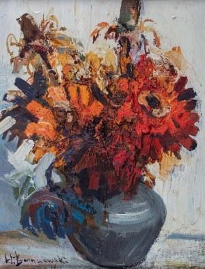 Henryk Baranowski (1932 Starogard Gdański - 2005 Gdynia), Kwiaty w wazonie, przed 1976 r.