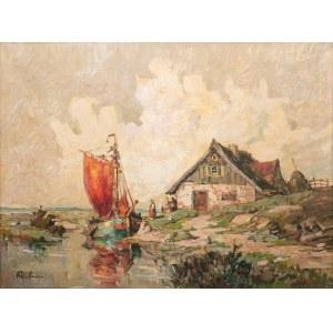 Rudolf Priebe (1889 - 1956 Rudolfstadt), Przy brzegu