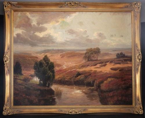 malarz nieokreślony (XX w.), Wrzosowisko