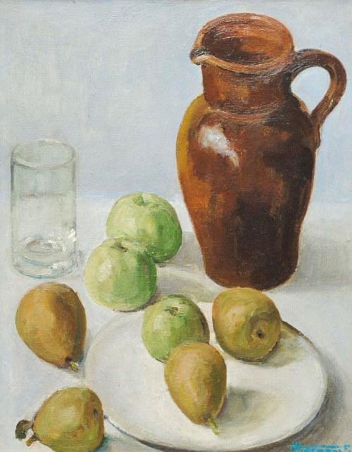 Malarz nieokreślony (1 poł. XX w.), Martwa natura z jabłkami