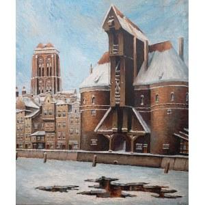 Paul Kreisel (1891 Gdańsk - 1956), Motława zimą