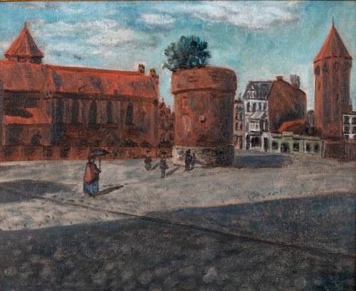 malarz nieokreślony (XX w.), Widok Gdańska