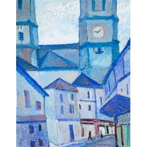 Mieczysław Lurczyński (1907 Petersburg – 1992 Paryż), Niebieskie miasto