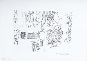 Tadeusz Kantor (1915 Wielopole Skrzyńskie-1990 Kraków), Figury i postaci, 1976