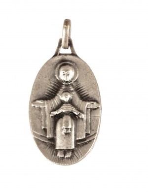 Jean Lambert-Rucki (1888 Kraków - 1967), Medalik Madonna z Dzieciątkiem