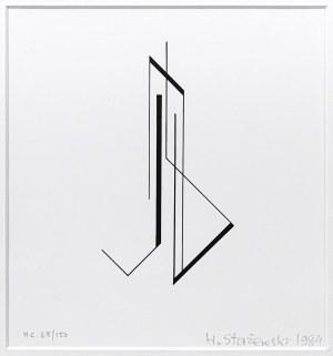 Henryk Stażewski (1894 – 1988), Kompozycja geometryczna, 1984