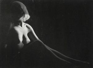 Ladislav POSTUPA (1929-2016), Akt siedzącej kobiety
