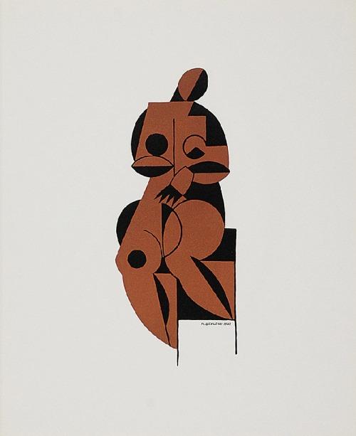 Henryk BERLEWI (1894-1967), Akt, 1922