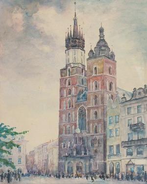 Władysław JAROCKI (1879-1965), Kościół Mariacki w Krakowie