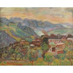 Józef KRZYŻAŃSKI (1898-1987), Góry jesienią, 1965