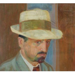 Bronisław OLSZEWSKI (1874-1959), Autoportret, 1913