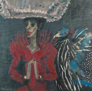 Stanisław WÓJTOWICZ (1920-1991), Portret Celiny Styrylskiej-Taranczewskiej