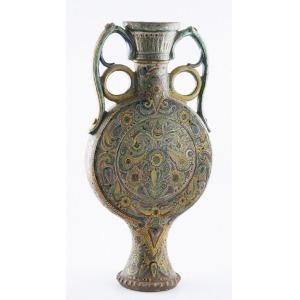 Dekoracyjny wazon huculski