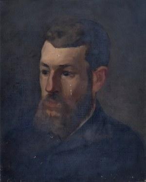Stanisław Kamocki (1875-1944), Popiersie mężczyzny z brodą, 1900