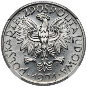 Rybak 5 złotych 1971