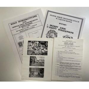 Makiety - Katalogi wystaw Koła numizmatycznego w Częstochowie